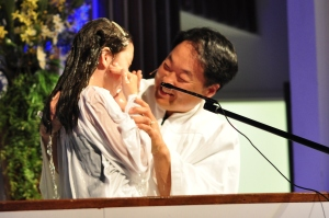 Lindsay Is Baptized